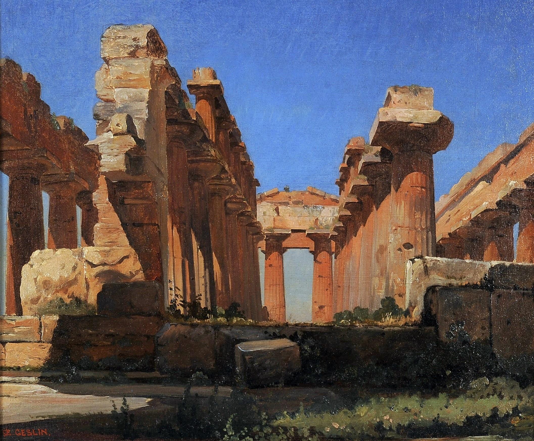 Jean-Charles Geslin Temple Poseidon Hera Paestum (4)